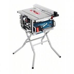 Stacionarus pjovimo stalas Bosch GTS 10 J Professional + darbo stalas GTA 600