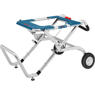 Stacionarus pjovimo stalas Bosch GTS 10 XC Professional + darbo stalas GTA 60 W 3