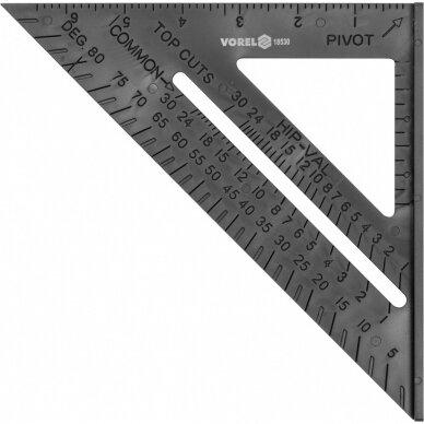 Staliaus kampainis su baze 180mm Vorel 18530