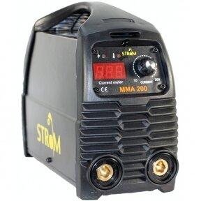 SUVIRINIMO INVERTERIS MMA-200 IGBT (STMMA-200)