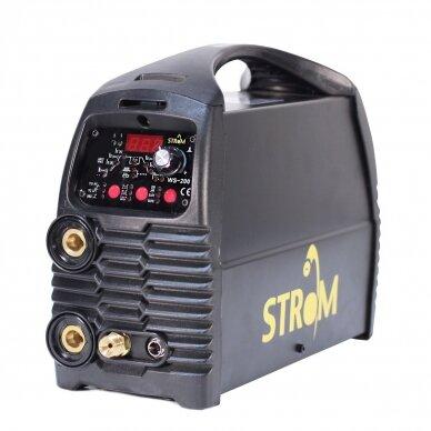 SUVIRINIMO APARATAS PULSE Strom TIG+MMA 200A, 220V 3