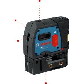 Taškinis lazerinis nivelyras Bosch GPL 5