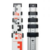 Teleskopinė 5m matuoklė Nivel System TS-50 niveliacinė