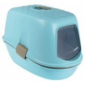 Trixie Berto kačių tualetas-namas, šviesiai mėlynos-rudai pilkos-granito sp., 39x42x59 cm