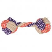 Trixie šunų žaislas – virvinis svarmuo, 15 cm,