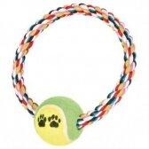 Trixie Teniso kamuoliukas su virve, 18 cm x 6,4 cm