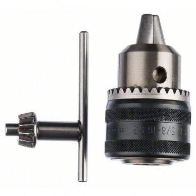 Vainikinis griebtuvas Bosch iki 16 mm, užveržiamas raktu (1608571056)