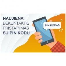 Bekontaktis pristatymas su PIN kodu
