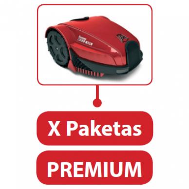 Vejos robotų servisas X Paketas